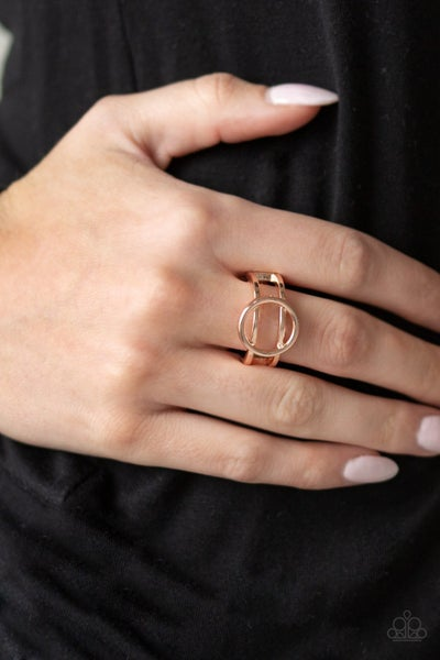 City Center Chic Rose Gold Ring