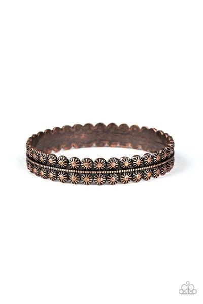 Rustic Relic Copper Bracelet