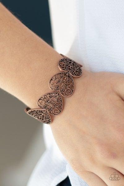 Keep Love In Your Heart Copper Bracelet