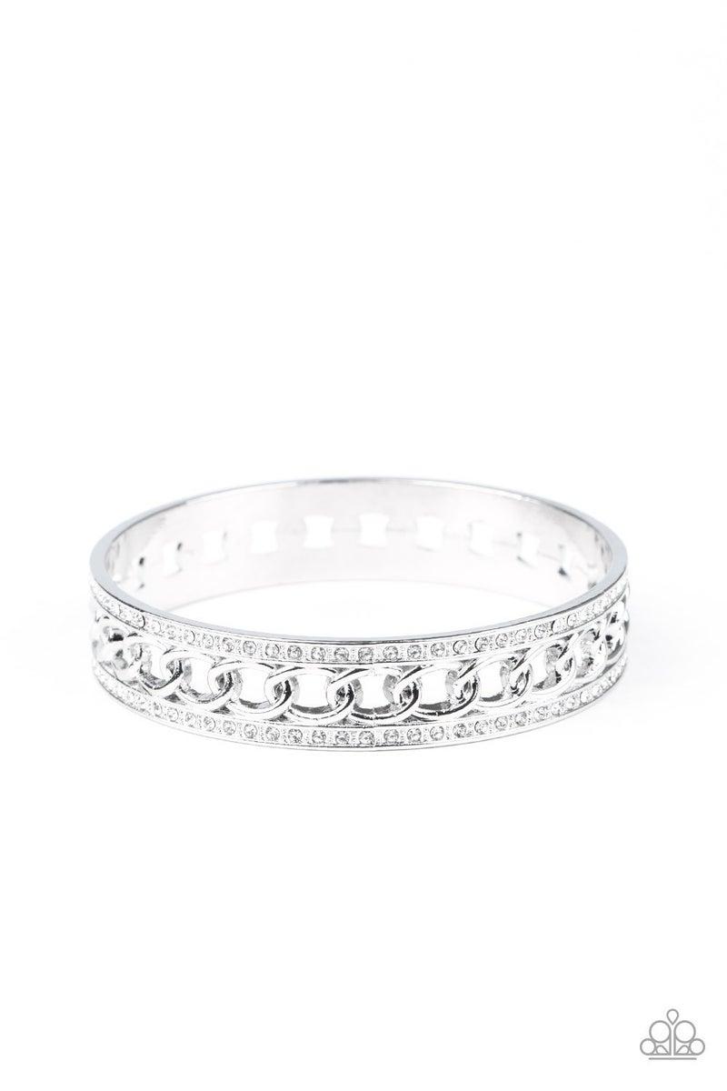 Couture Court White Bracelet