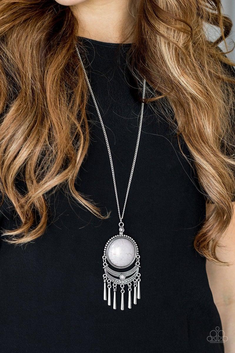 Rural Rustler Silver Necklace
