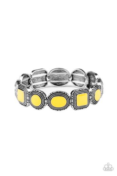 Vividly Vintage Yellow Bracelet