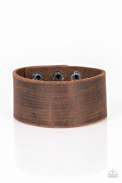 Casually Cowboy Brown Urban Bracelet