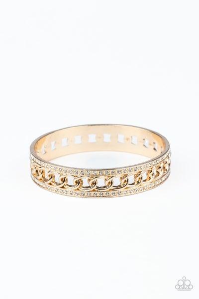 Couture Court Gold Bracelet