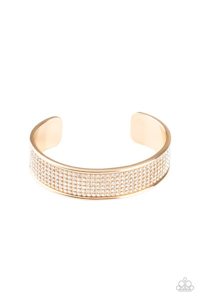 Can't Believe Your ICE Gold Bracelet