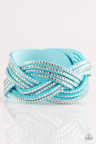 Big City Shimmer Blue Bracelet