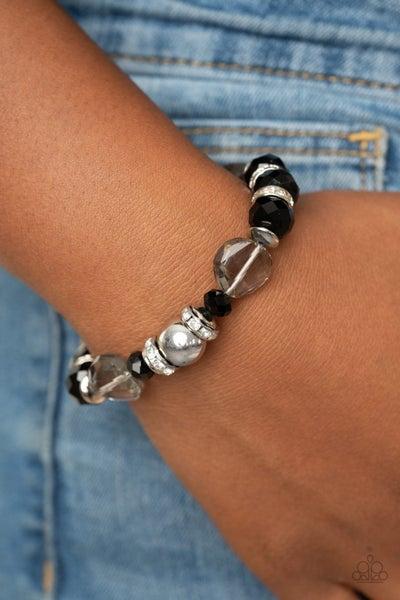 Treat Yourself Black Bracelet