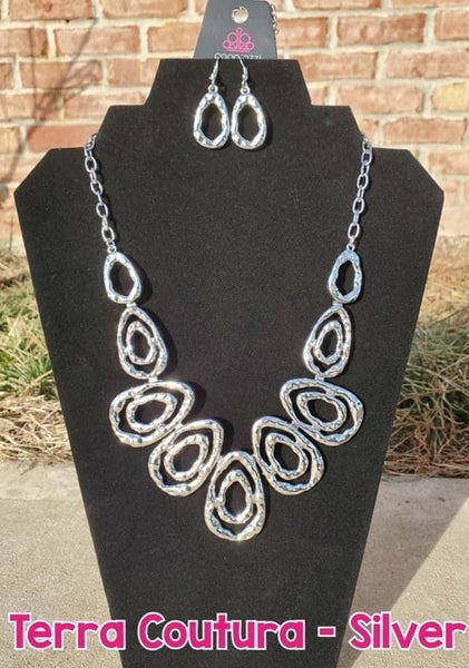 Terra Couture Silver Necklace