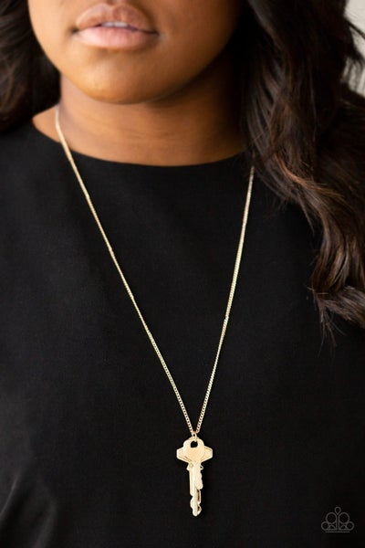 The Keynoter Gold Necklace