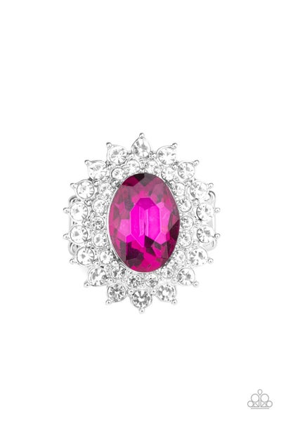 Secret Garden Glow Pink Ring