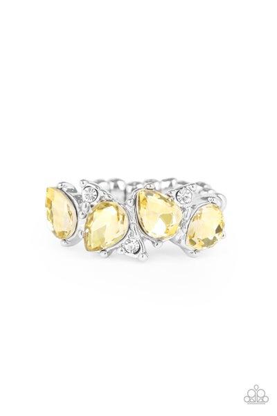 Majestically Modern Yellow Ring