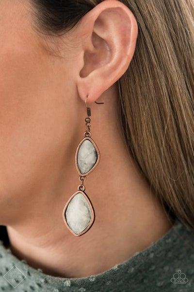 The Oracle Has Spoken Copper Earrings