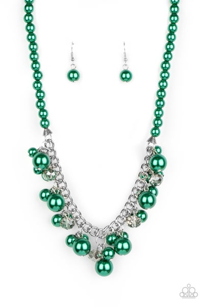 Prim and Polished Green Necklace