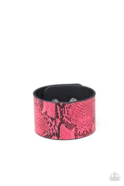 It's A Jungle Out There Pink Bracelet