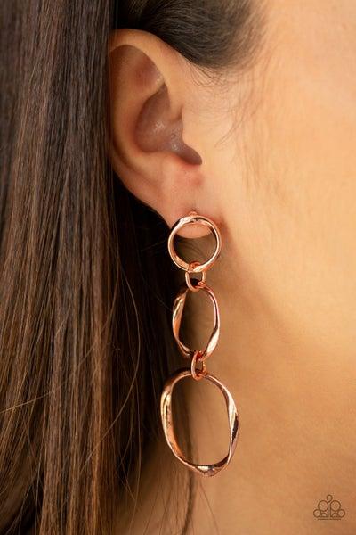 Three Ring Radiance Copper Posts