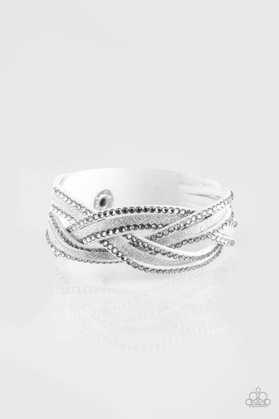 Girls Do It Better White Bracelet