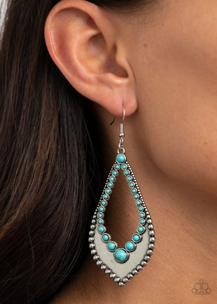 Essential Minerals Turquoise Earrings