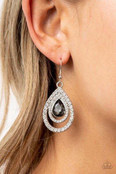 So The Story GLOWS Silver Earrings