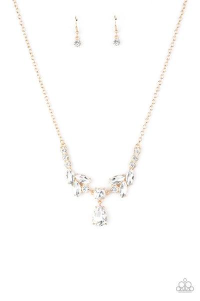 Unrivaled Sparkle Gold Necklace