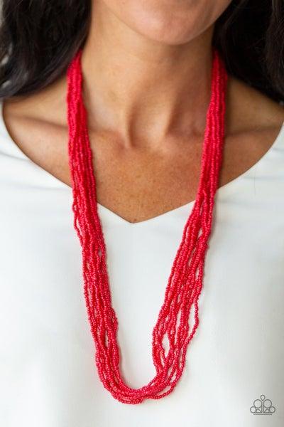 Congo Colada Red Necklace