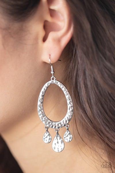 Taboo Trinket Silver Earrings