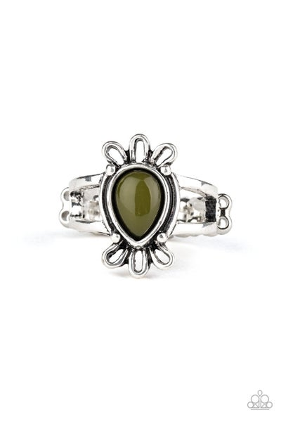 Tranquil Tide Green Ring