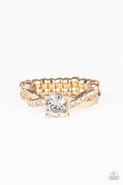 Prim and Proper Gold Ring