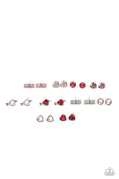 Assorted Heart Posts Starlet Shimmer Earring Kit