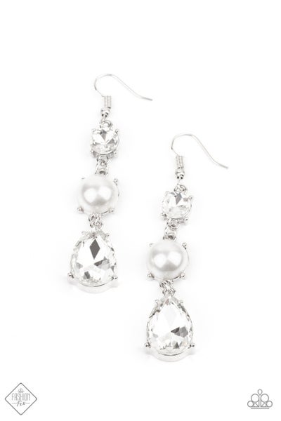 Unpredictable Shimmer Pearl Earrings