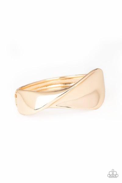 Retro Reflections Gold Bracelet