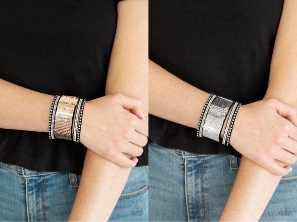 MERMAIDS Have More Fun Rose Gold Silver Bracelet