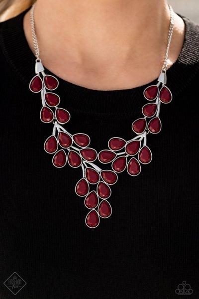 Eden Deity Red Necklace