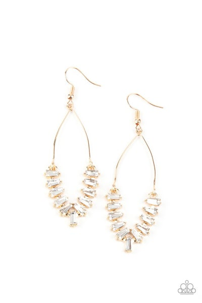 Me, Myself and ICE Gold Earrings
