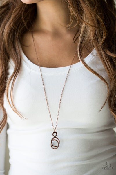 Timeless Trio Copper Necklace