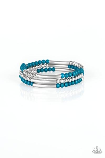 Tourist Trap Blue Bracelet