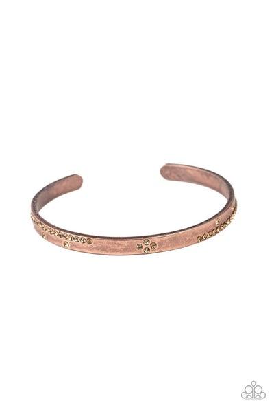 Dainty Dazzle Copper Bracelet