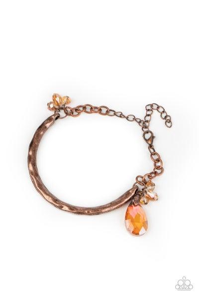 Let Yourself GLOW Copper Bracelet