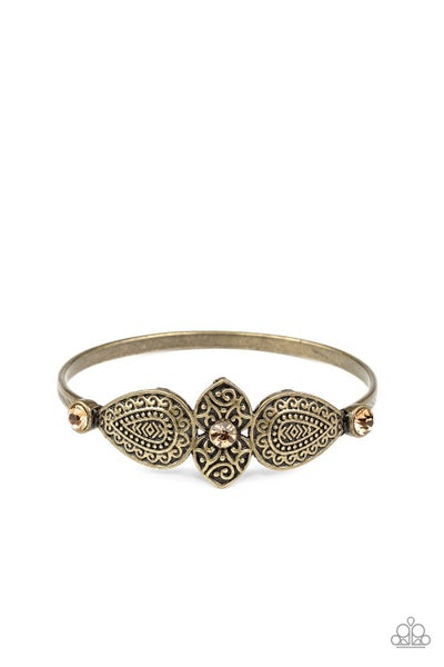 Flourishing Fashion Brass Bracelet