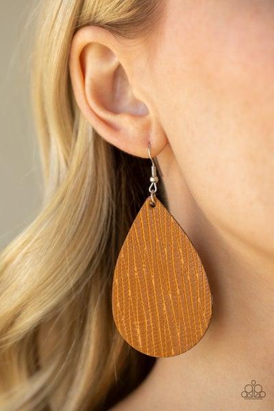 Natural Resource Yellow Earrings