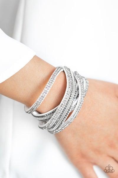 Royal Razzle White Bracelet