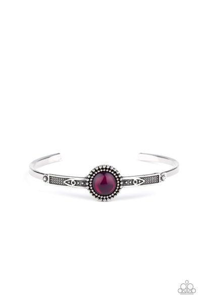PIECE of Mind Purple Bracelet