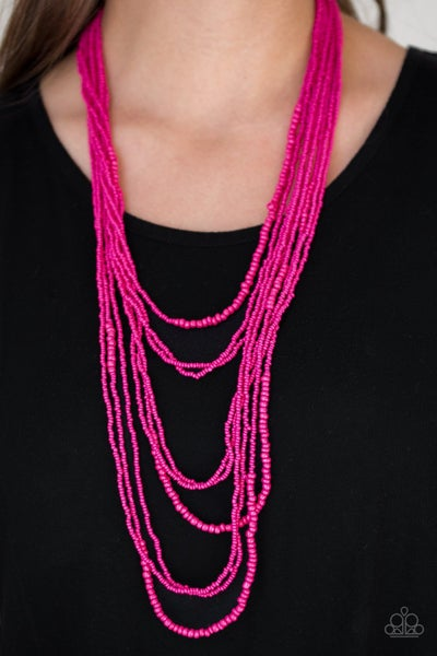 Totally Tonga Pink Necklace