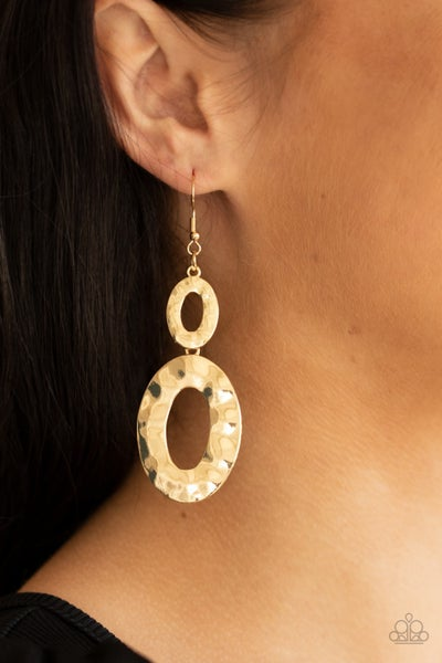 Bring On The Basics Gold Earrings