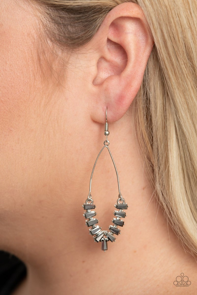 Me, Myself and ICE Silver Earrings