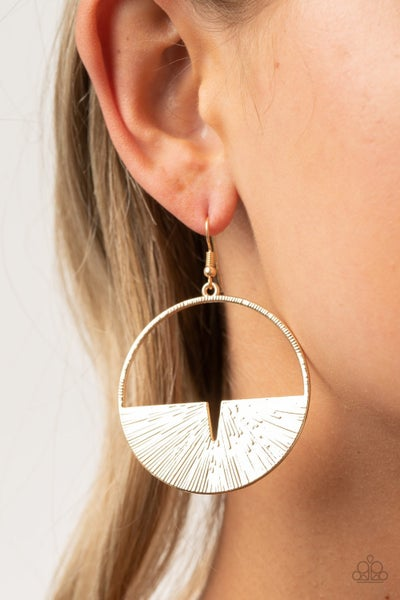 Reimagined Refinement Gold Earrings