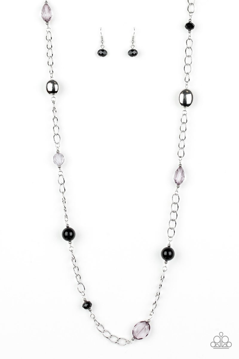 Only For Special Occasions Black Necklace