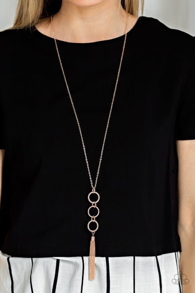 Diva In Diamonds Rose Gold Necklace