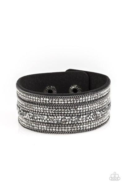 Really Rock Band Gunmetal Bracelet