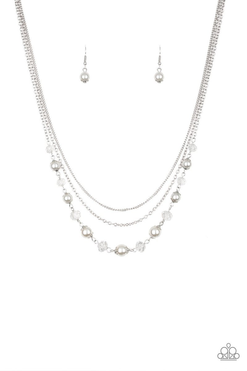 Tour de Demure Pearl Necklace