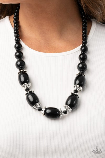 After Posh Party Black Necklace